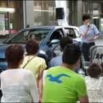 Think Blue. Training 今度は二子玉川で安全運転講習イベント