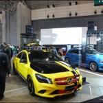 国内メーカー8社のほかベンツも出展した「東京オートサロン2014 with NAPAC」