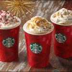 スターバックスにクリスマス到来!今年のホリデーシーズンはスノー メイプル味
