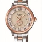 秋冬のトラベルにピッタリ!カシオから女性向けの電波ソーラー腕時計が新発売