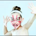 話題の歌舞伎フェイスパックに子供用が登場