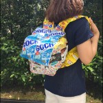 女子高生に人気のお菓子コーデ!お菓子でリュックを作っちゃおう