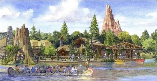 キャラクターグリーティング施設(外観イメージ)  (C)Disney