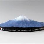富士山の地形を正確に再現!富士山360°立体マップ