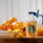 スタバから夏を感じさせるクラッシュオレンジフラペチーノが新登場