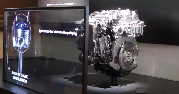 次世代ガソリンエンジンSKYACTIV-X