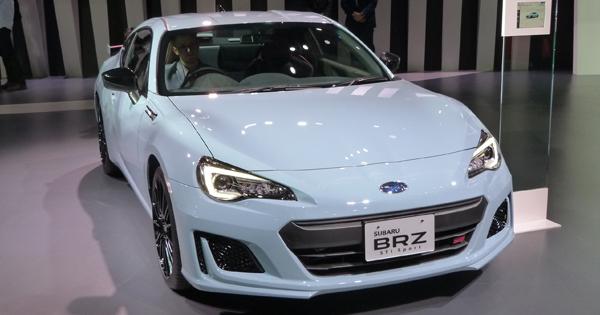 BRZの最高級グレードとして登場したSUBARU BRZ STI Sport