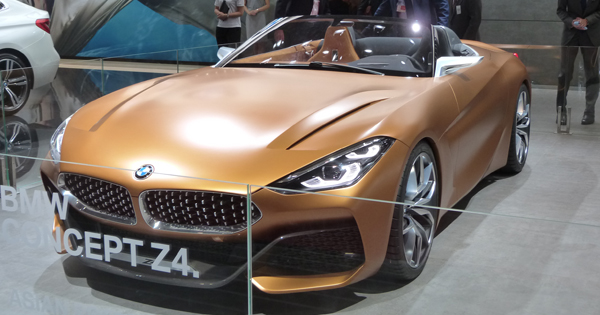 Z4のコンセプトモデル