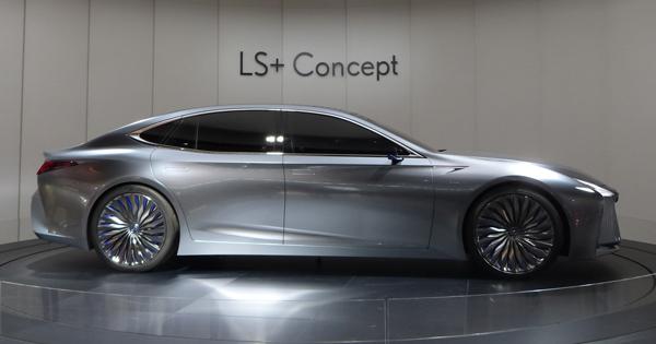 早くも次期LSのコンセプトモデルが登場