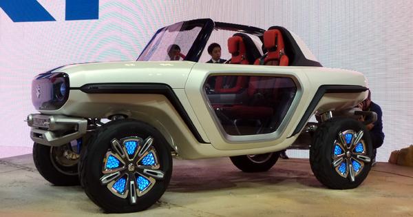 四輪駆動ならぬ4モーター四輪独立駆動SUVコンセプト「e-SURVIVOR」
